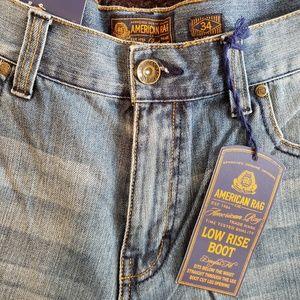 NWT American Rag Men's Boot Cut Jeans Size 34x30